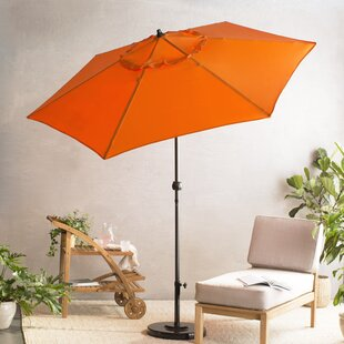 e38b5b58c5cc Orange Patio Umbrellas You'll Love in 2019 | Wayfair
