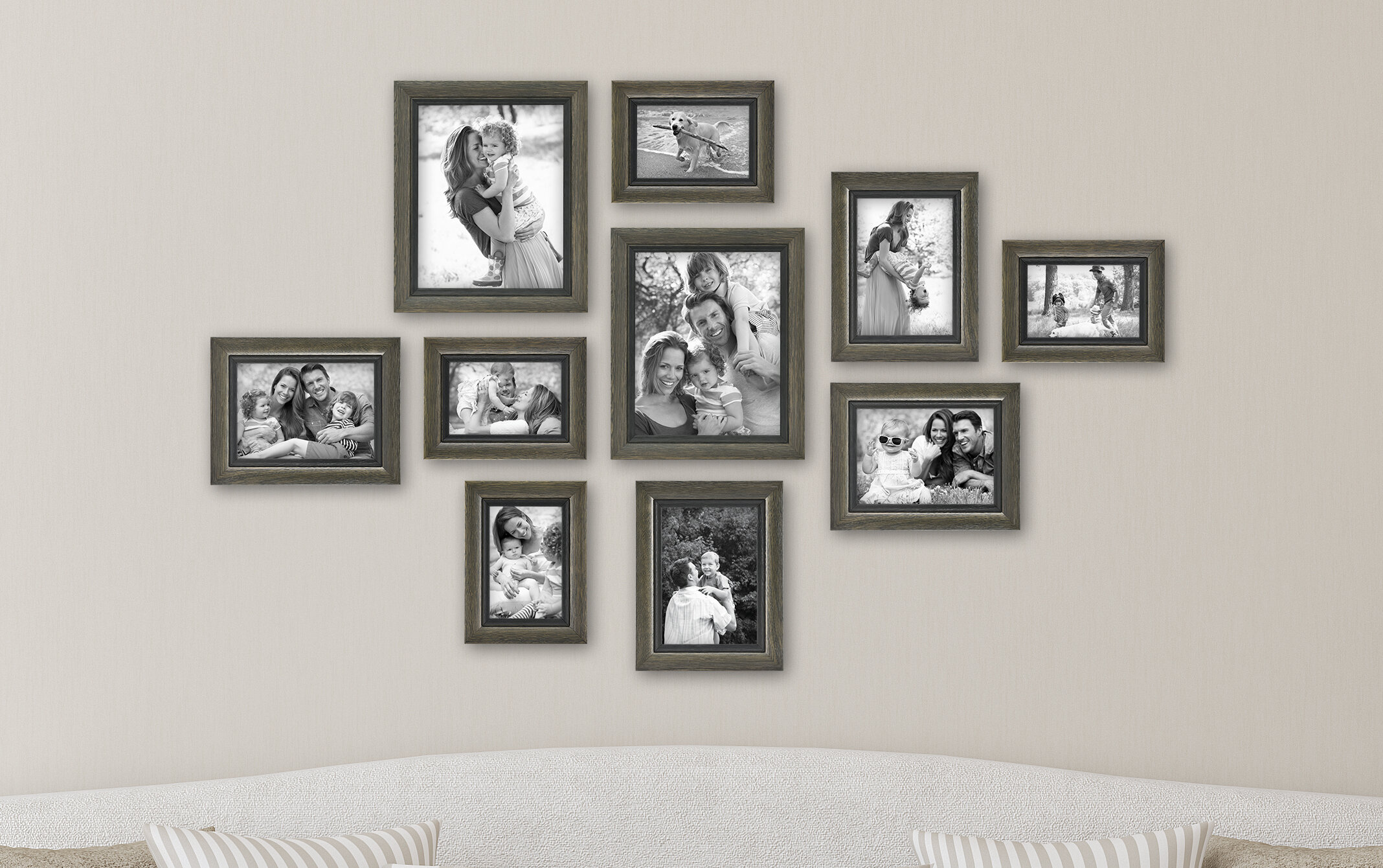Mcsindustries 10 Piece Regency Picture Frame Set Reviews Wayfair