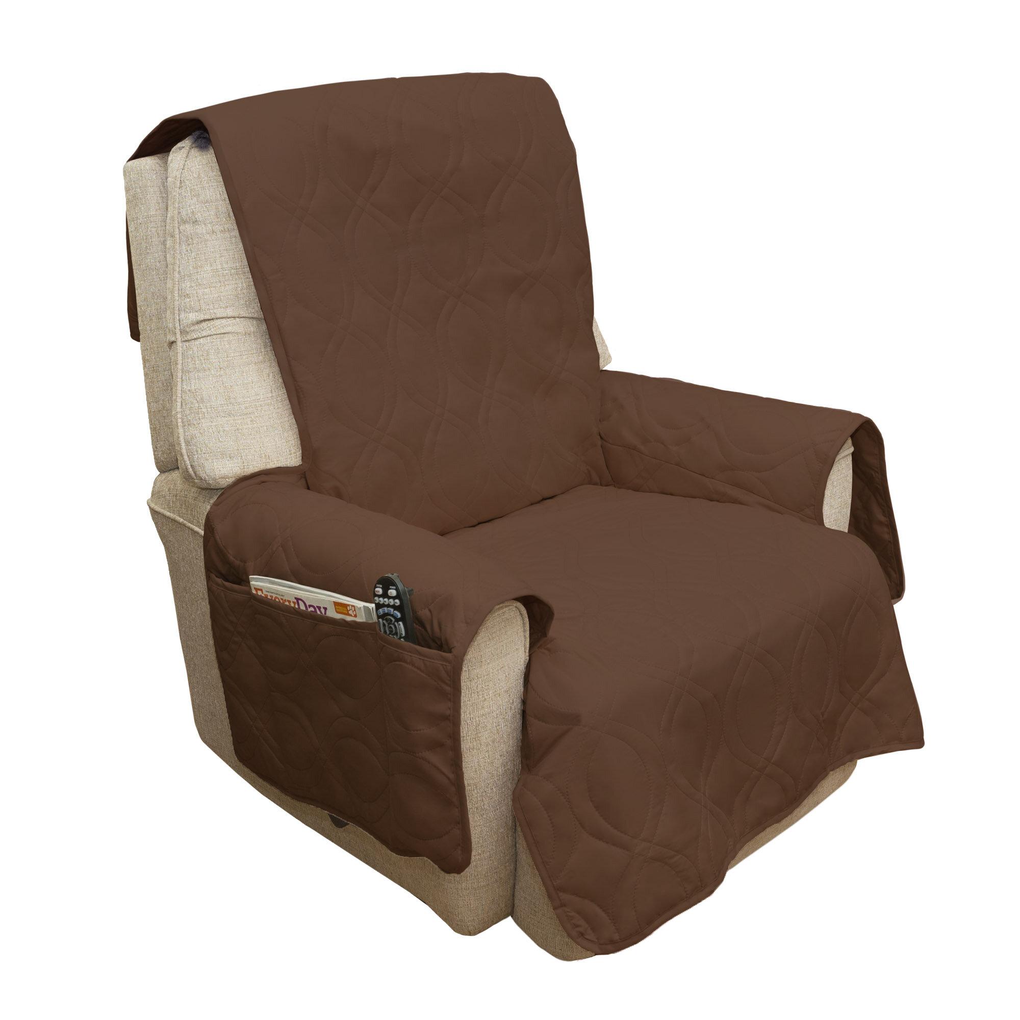 Petmaker Waterproof Quilted Box Cushion Armchair Slipcover U0026 Reviews |  Wayfair