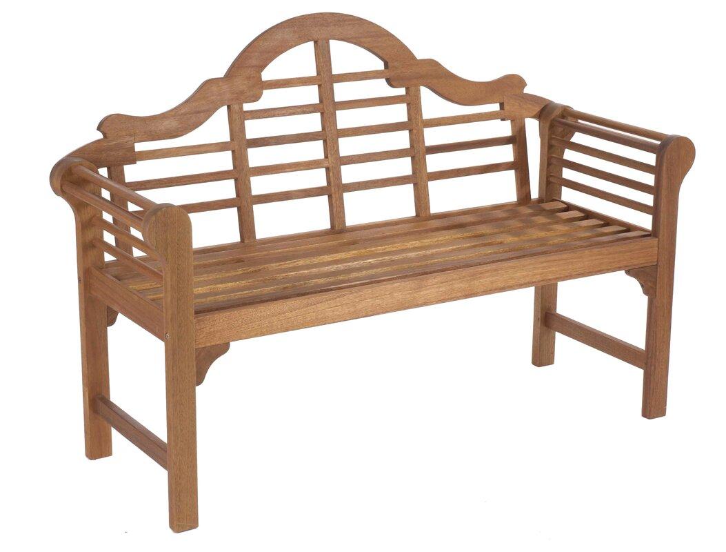 gablemere 2 sitzer gartenbank lutyens aus holz bewertungen. Black Bedroom Furniture Sets. Home Design Ideas
