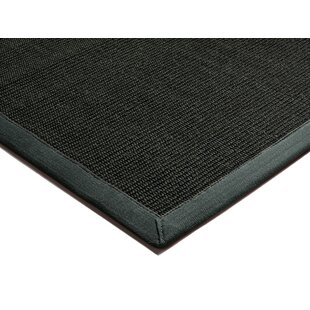 Matias Black/Grey Area Rug by Longweave