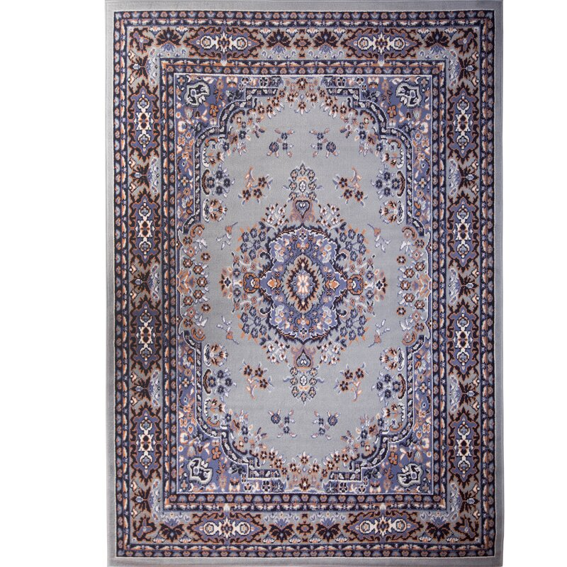 Lilly Silver Area Rug