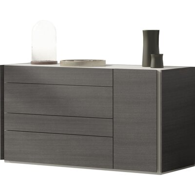 Brayden Studio Comet 4 Drawer Dresser