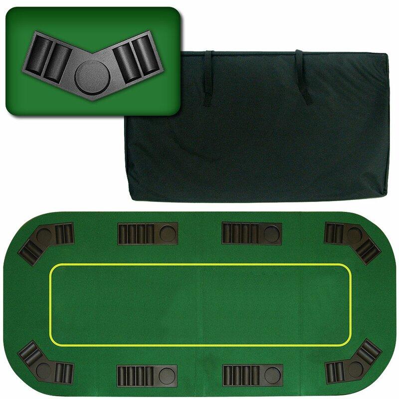 Superieur Deluxe Texas Holdem Folding Poker Tabletop
