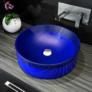 Blue And White Vessel Sink Wayfair