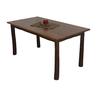 Desiree Hickory Solid Wood Dining Table