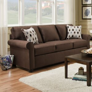 Simmons Upholstery Rausch Sleeper Sofa by Andover Mills