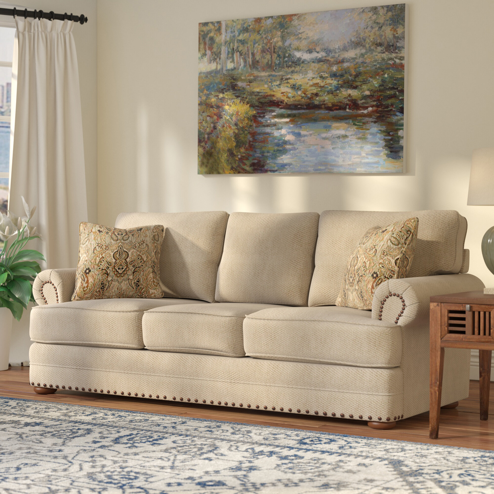 Laurel Foundry Modern Farmhouse Bernard Sofa U0026 Reviews | Wayfair