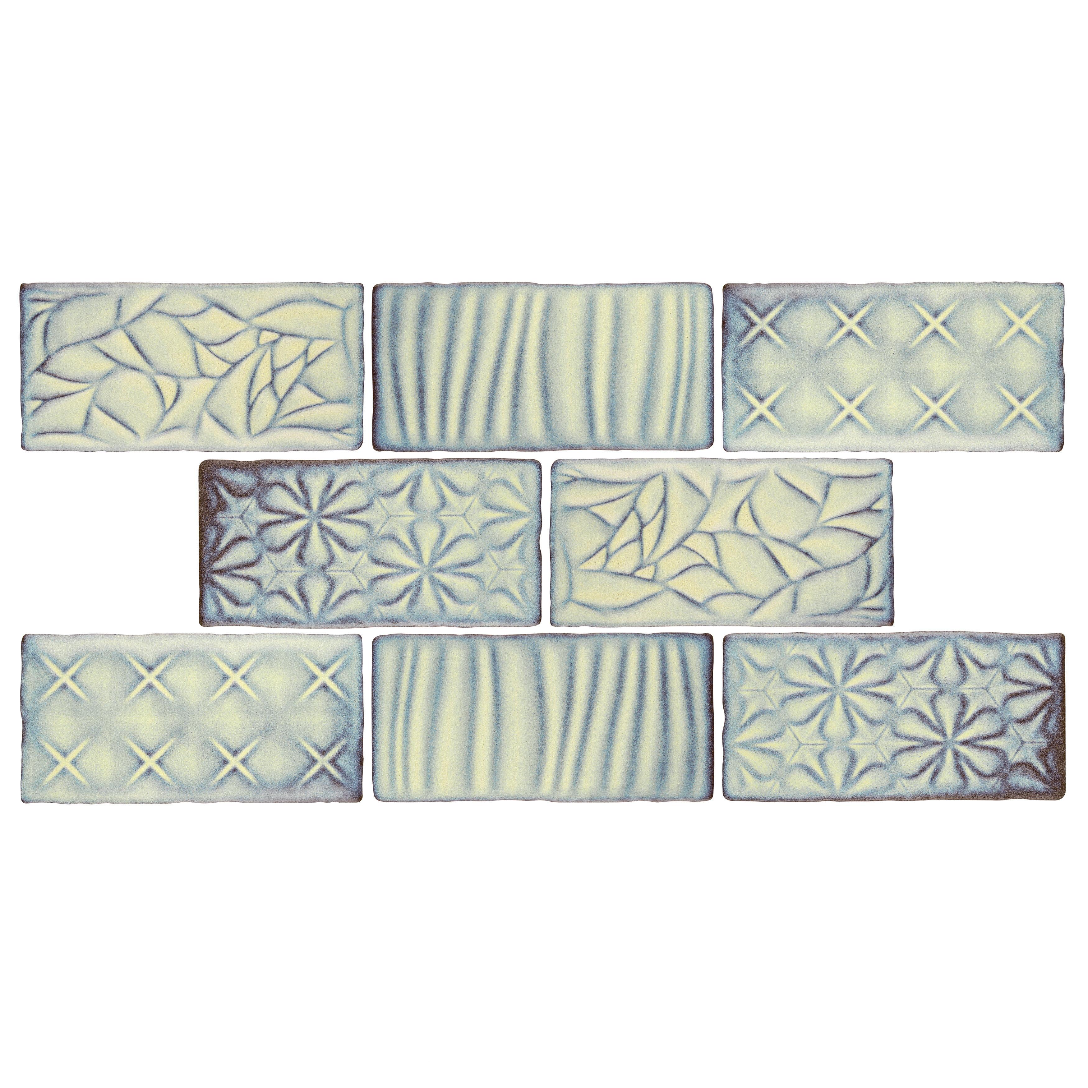 Elitetile Antiqua Sensations 3 X 6 Ceramic Subway Tile In Yellow