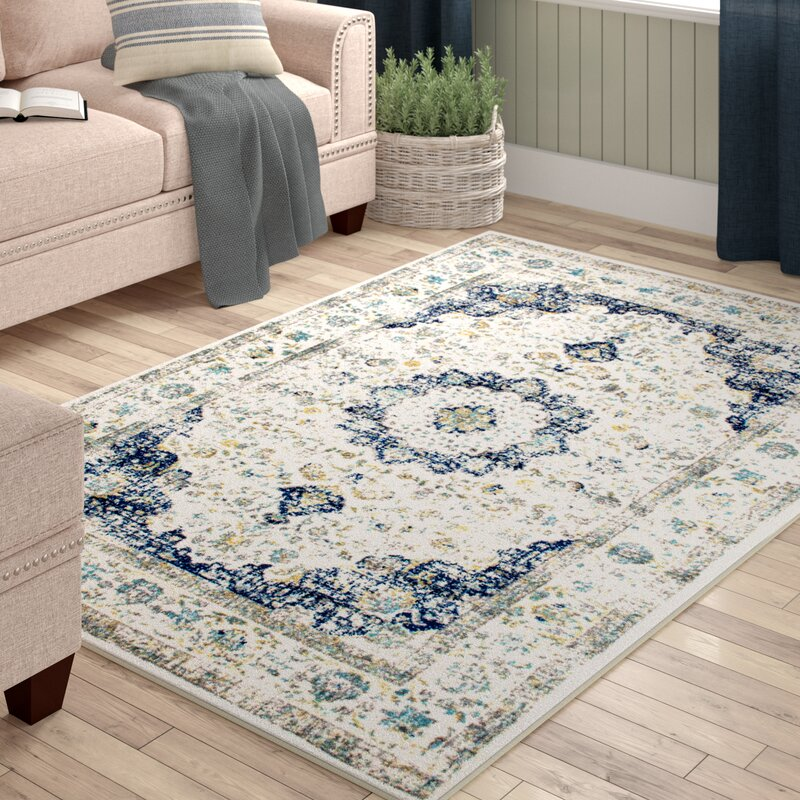 Hosking Doylestown Blue Area Rug Amp Reviews Birch Lane