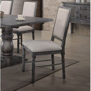 Ahrens Side Upholstered Dining Chair (Set of 2)