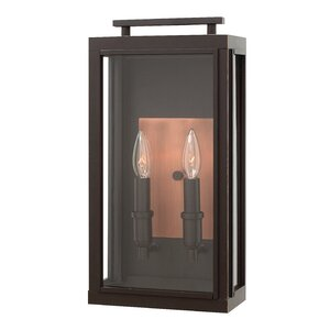 Sutcliffe 2-Light Outdoor Wall Lantern