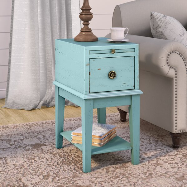 Kitchen Island Table Philippines: Lark Manor Philippine End Table With Storage & Reviews