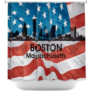 Boston Red Sox Shower Curtain Wayfair