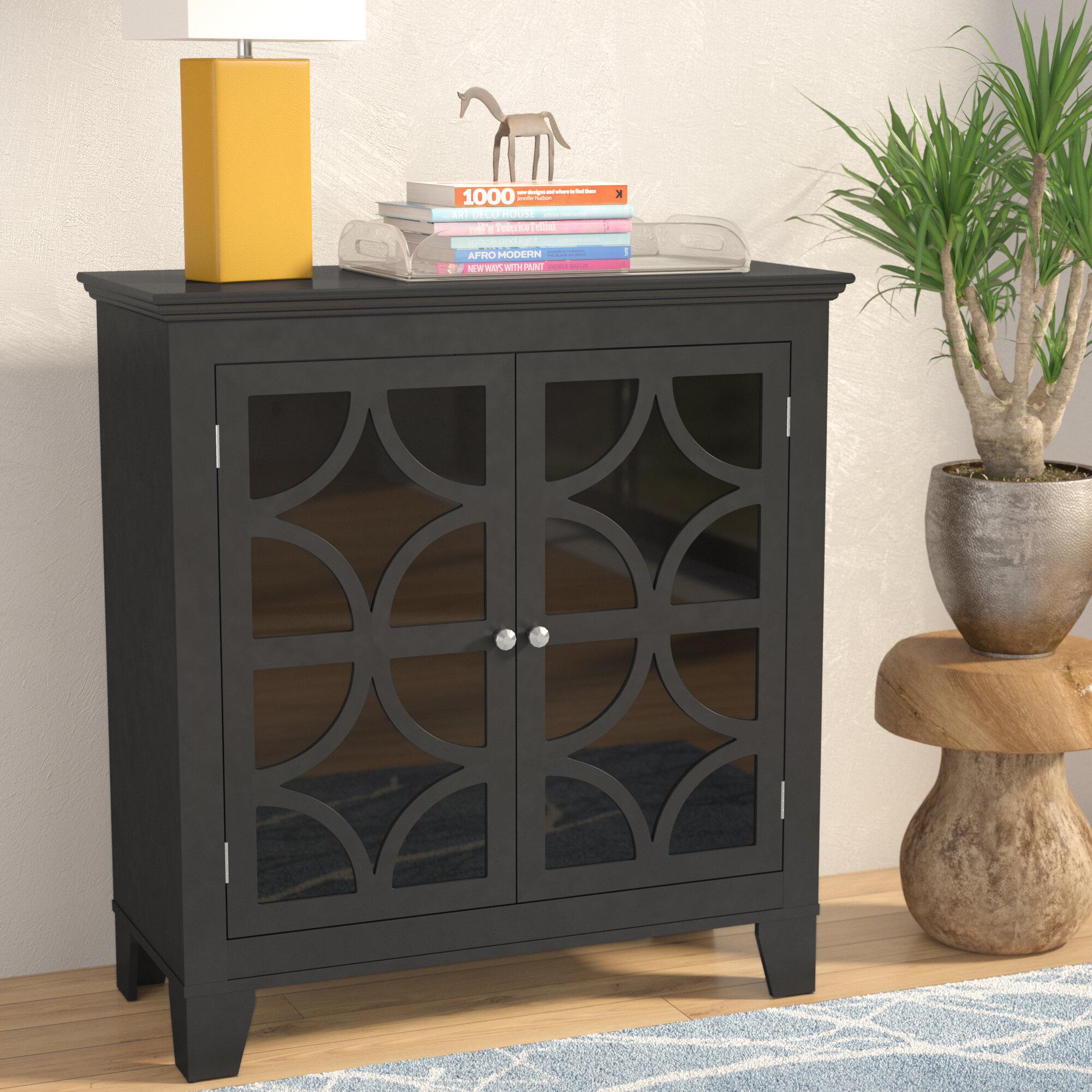 Latitude Run Centeno 2 Door Cabinet U0026 Reviews | Wayfair
