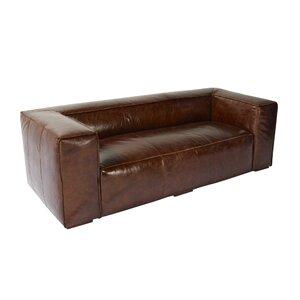 3-Sitzer Sofa Macau aus Leder von Home & Haus