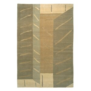 Designers' Reserve Cream/Green Area Rug