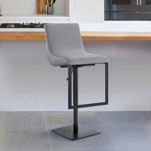 Victory Adjustable Height Swivel Barstool