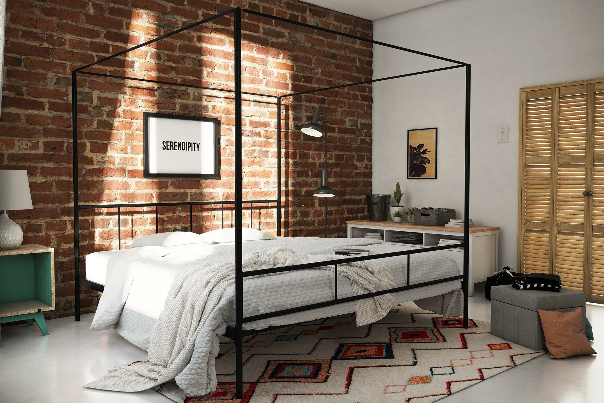 . Marion Canopy Bed