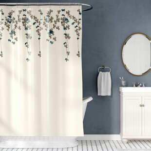Riehl Embroidered Shower Curtain
