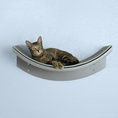 Cleopatra Leaf Cat Perch Archie & Oscar Color: Smoke