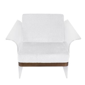 Lupe Float Armchair by Wade Logan