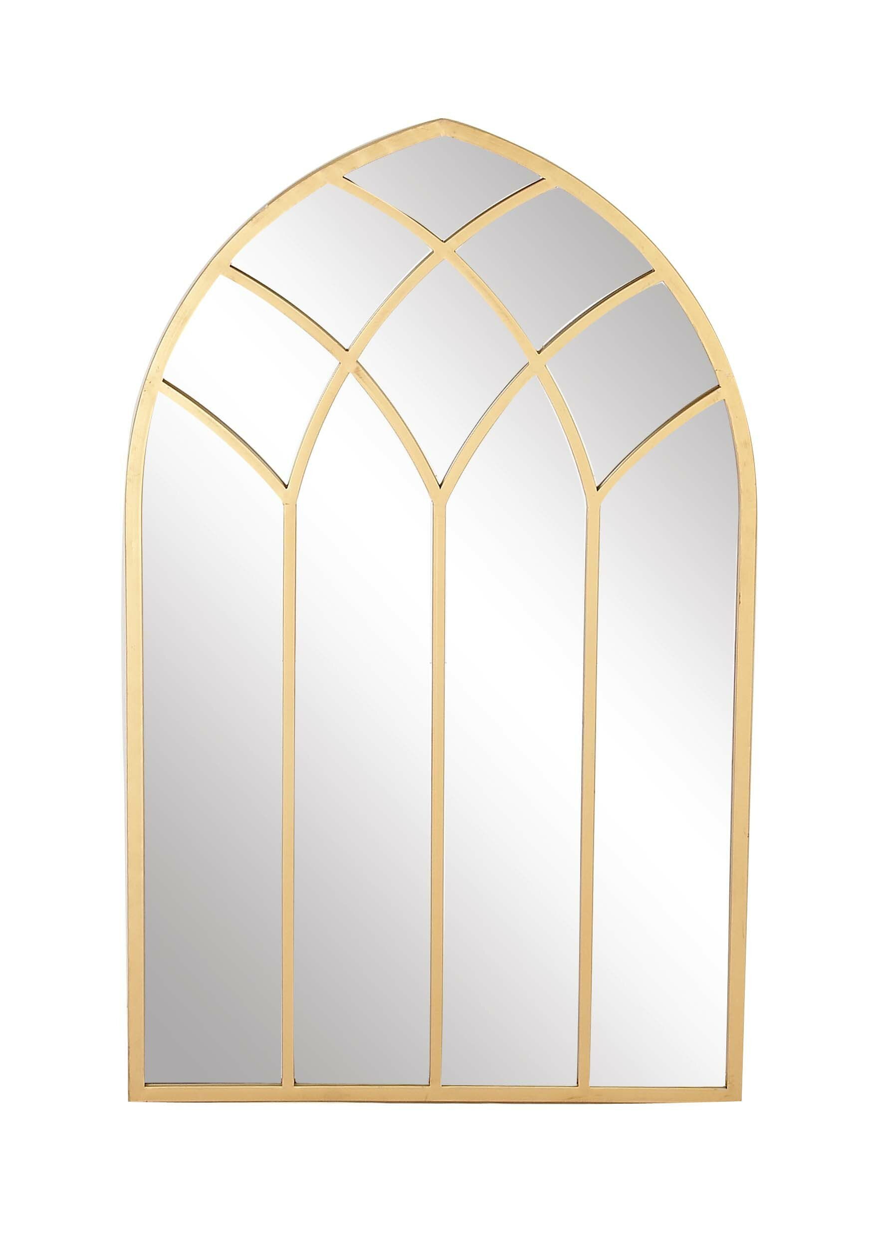Darby Home Co Modern Framed Arched Window Wall Decor Reviews Wayfair