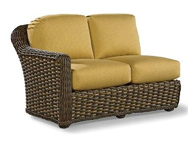 South Hampton Left Facing One Arm Loveseat With Cushions