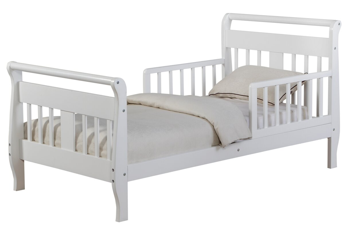 Haley Toddler Sleigh Bed