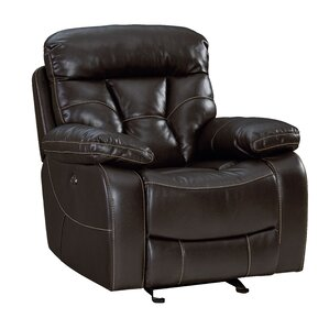 Ellenton Manual Glider ReclinerOversized Recliners You ll Love   Wayfair. Reclining Chair And A Half Leather. Home Design Ideas