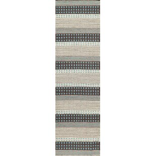 Hansville Awning Stripes Hand Loomed Area Rug Joss Main