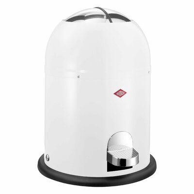 Wesco Single Master 2 Gallon Step On Trash Can Color: Cool Gray