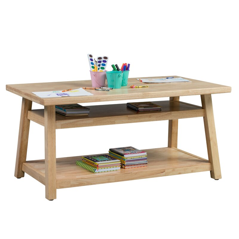 Ecr4kids Sit N Stash Kids Writing Table Wayfair