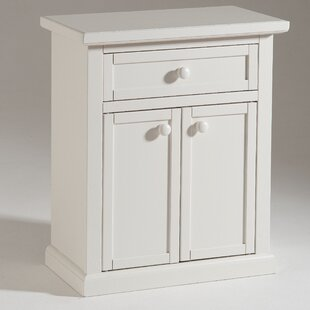 2 Door 1 Drawer Small Shoes Cabinet