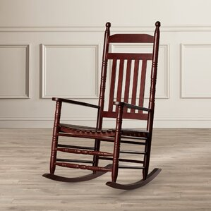 Ballett Adult Rocking Chair by Charlton Home