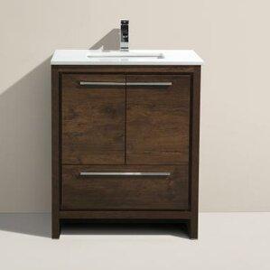 Bathroom Vanity With Sink 30 inch bathroom vanities you'll love | wayfair