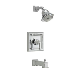 Town Square Single Handle 3 Function Tub and Shower Trim Kit with FloWise