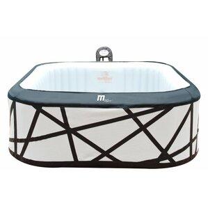 soho 4 person jet bubble spa - Wayfair Hot Tub