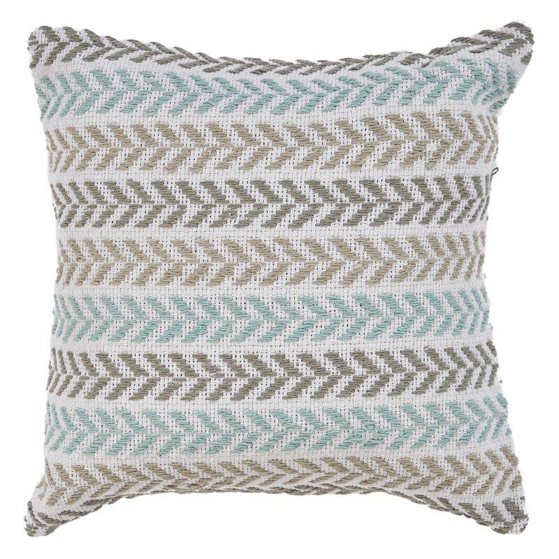 747f358e948 Galilea Chevron 100% Cotton Throw Pillow   Reviews