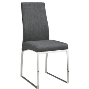 Bunce Fabric Upholstered Dining Chair (Set of 2) by Orren Ellis