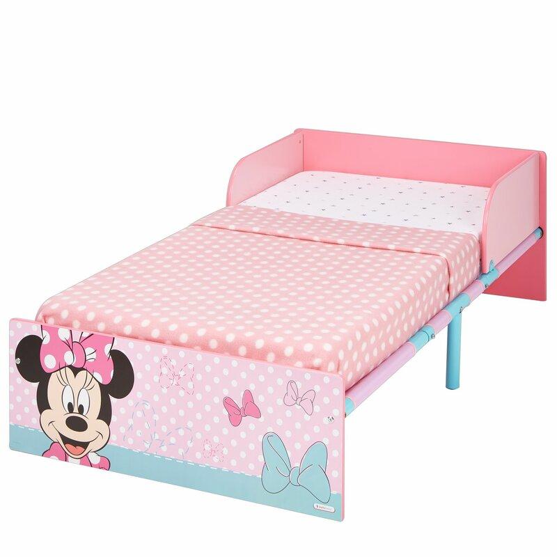 Hello Home Disney Minnie Mouse Toddler Bed Frame Wayfaircouk