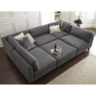 u-shaped sectionals you'll love | wayfair U Sectional Couch