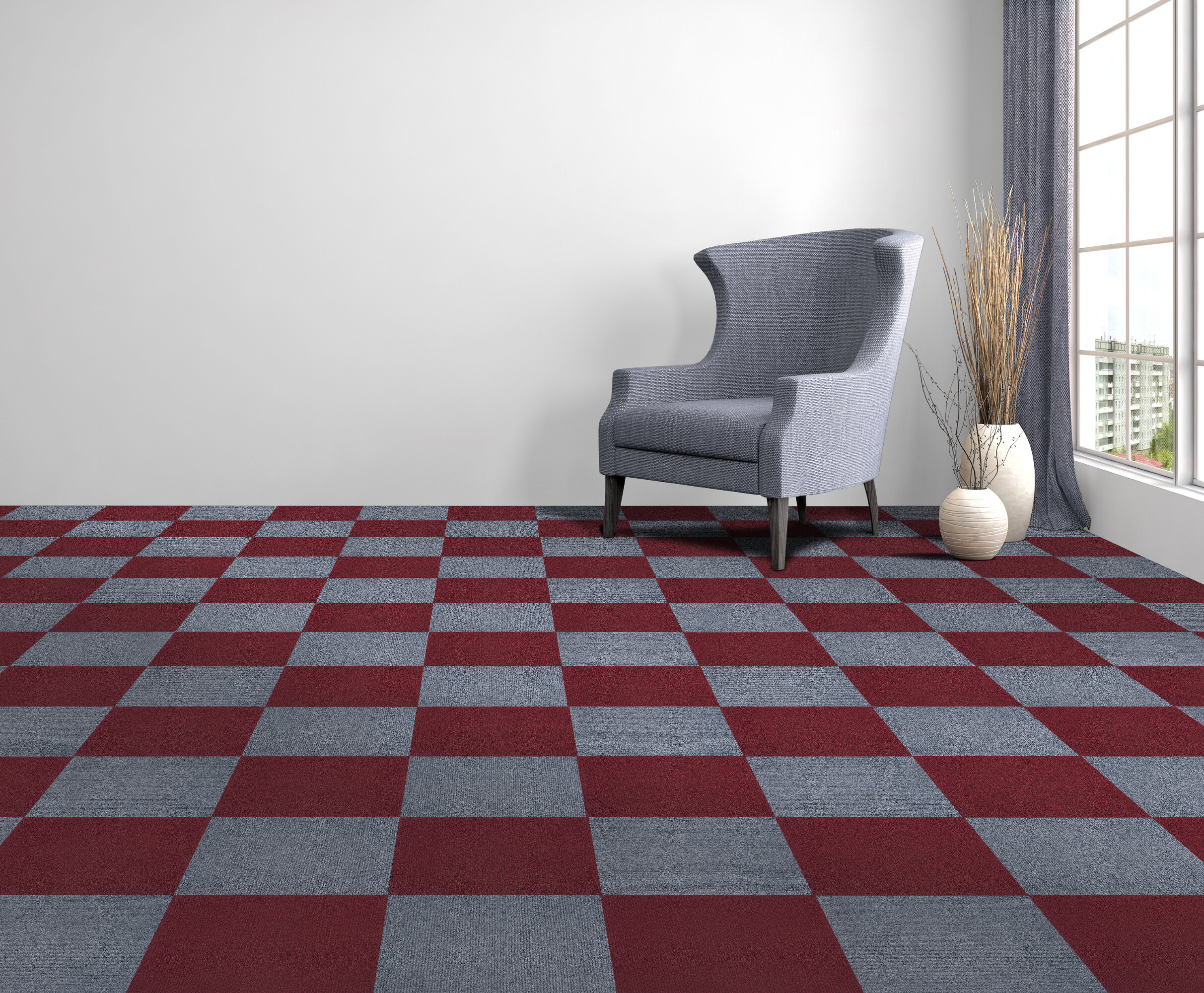 "Achim Importing Co Nexus 12"" x 12"" Loop pile Carpet Tile & Reviews 