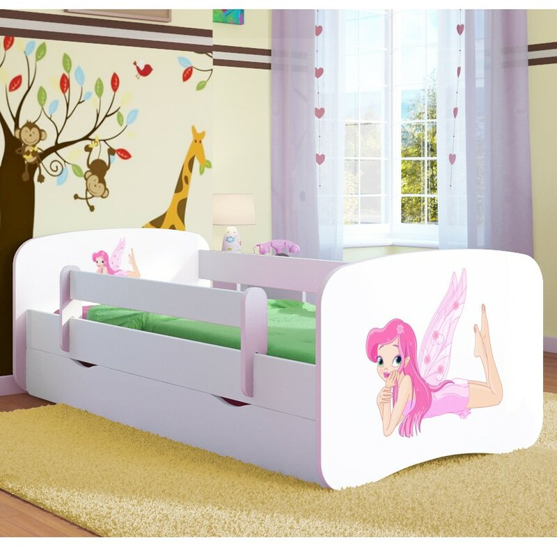 kocot kids kinderbett fairy mit matratze und schublade bewertungen. Black Bedroom Furniture Sets. Home Design Ideas