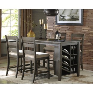 Chapdelaine 5 Piece Pub Table Set