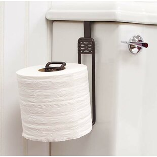 Tank Mounted Toilet Paper Holders You\'ll Love | Wayfair