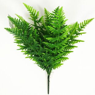Outdoor Artificial Fern Plant Set Of 6