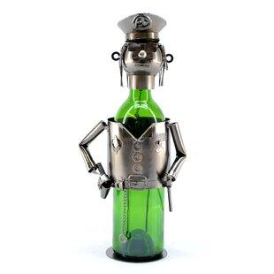 Policeman 1 Bottle Tabletop Wine Rack