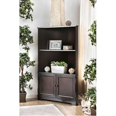 bookcases with doors you 39 ll love wayfair. Black Bedroom Furniture Sets. Home Design Ideas