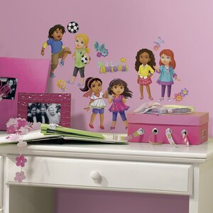 Popular Characters Dora and Friends Wall Decal